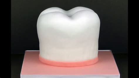 making  giant tooth cake youtube