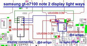 Samsung Galaxy Note Ii N7100 Lcd Display Light Ic Solution