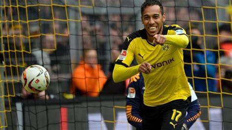 Gabon's Pierre-Emerick Aubameyang named Bundesliga Player ...