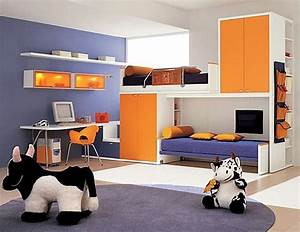 Wohnideen Für Kinderzimmer : kinderzimmer f rblig gestalten das fr hliche orange ~ Lizthompson.info Haus und Dekorationen