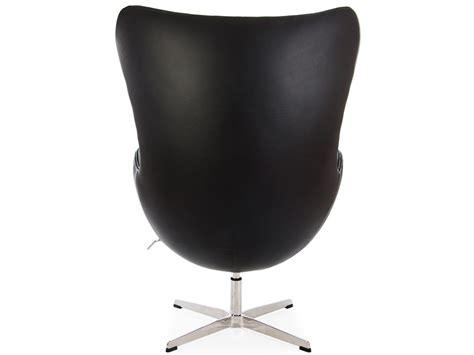 egg chair black