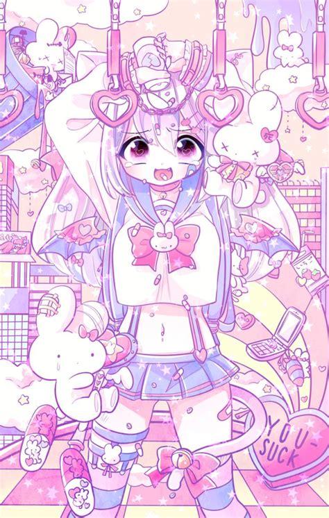 pin  entropy  pastel art kawaii art kawaii anime