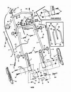 34 Snapper Push Mower Parts Diagram