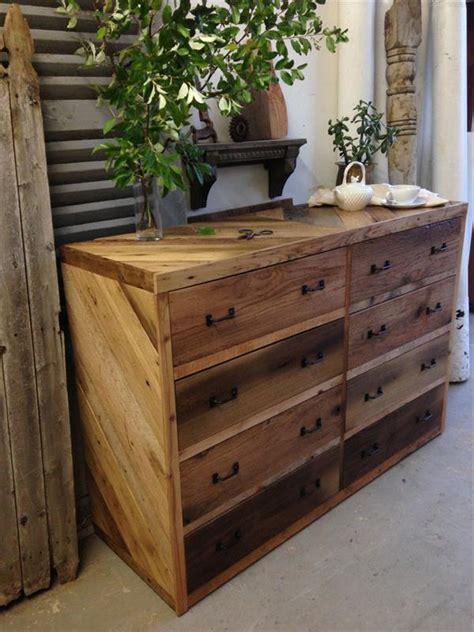 diy wood pallet dresser wooden pallet furniture