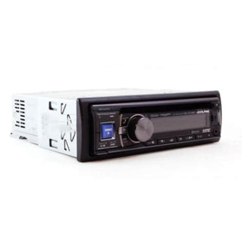alpine cde hd138bt single din in dash cd mp3 hd radio receiver with built in bluetooth front aux