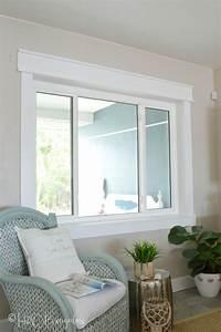 Simple, Diy, Craftsman, Style, Window, Trim, Tutorial