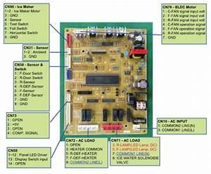 Samsung Rs261mdrs Refrigerator Original Service Manual