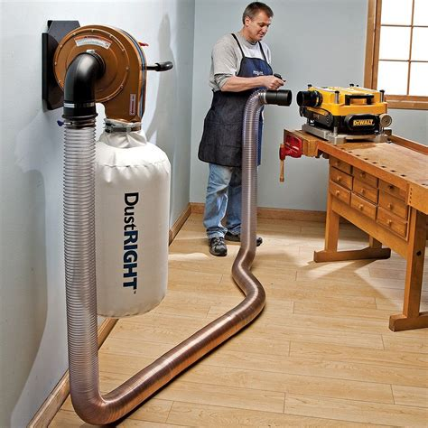 rockler dust  wall mount dust collector item