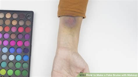 How To Make A Fake Bruise With Makeup 14 Steps (with
