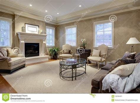 livingroom club elegant living room lounge stock image image 16240401