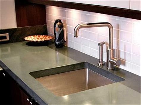 weight of concrete countertops choosing concrete countertops