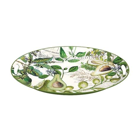 michel design works trays michel design works large metal tray avocado