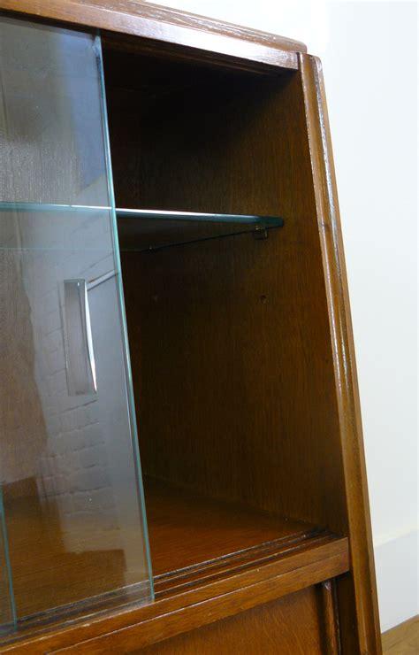 gomme  plan oak mid century cabinet bookcase display unit