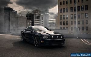 ford mustang gt s197 xo verona black concave wheels front | PK Auto Design