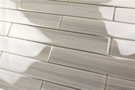 grey glass tiles gray glass subway tile gainsboro gray 2x12 glass tile
