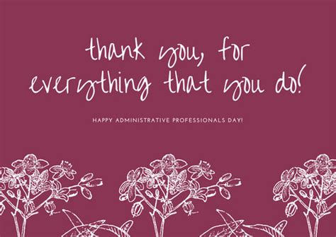 disco flowers administrative professionals day card