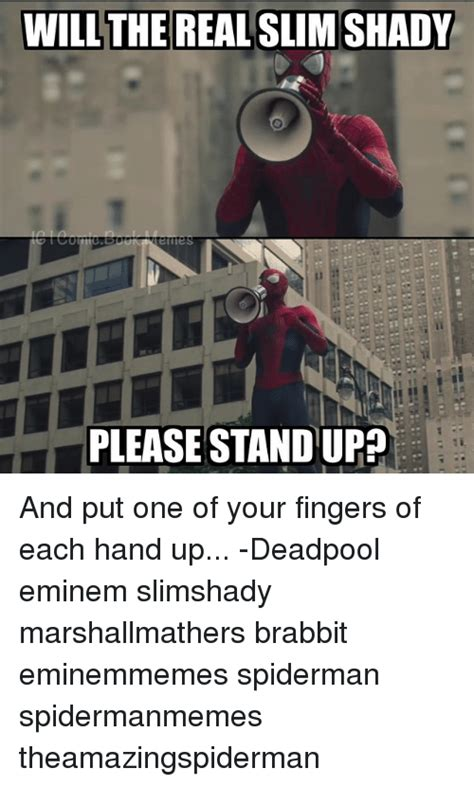 Real Slim Shady Please Stand Up by Funny The Real Slim Shady Memes Of 2016 On Sizzle