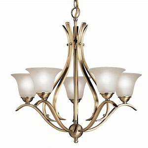Portfolio dover light antique brass chandelier at