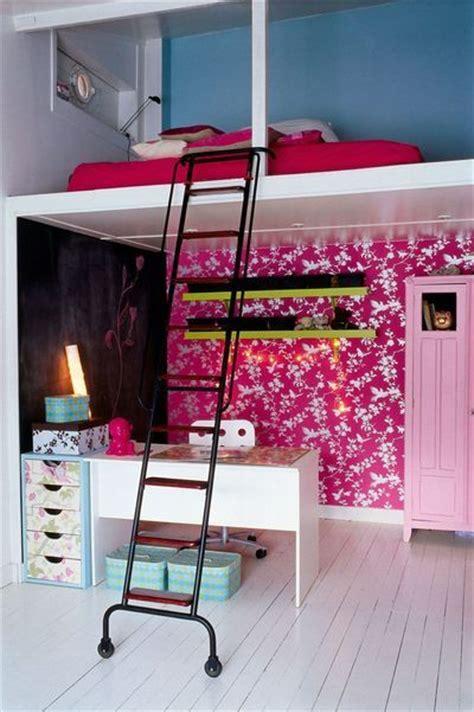 mezzanine dans une chambre créer une chambre d ado fille d inspiration