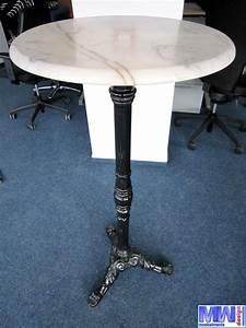 Ebay De Einloggen : bistrotisch stehtisch mit marmorplatte gusseisenfu h he ca 115 cm l407 ebay ~ Watch28wear.com Haus und Dekorationen