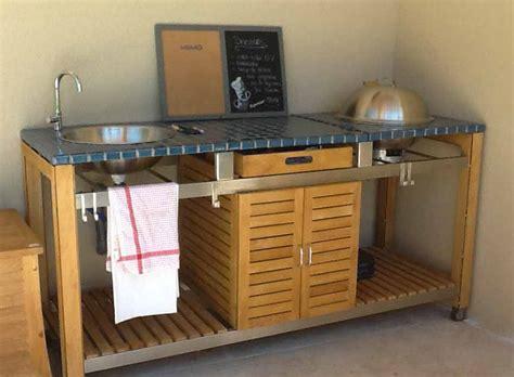petit meuble de cuisine but cuisines d 39 extérieur et barbecues design et haut de gamme
