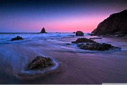 Lock Screen Surface Desktop Sunset Wallpapers Purple