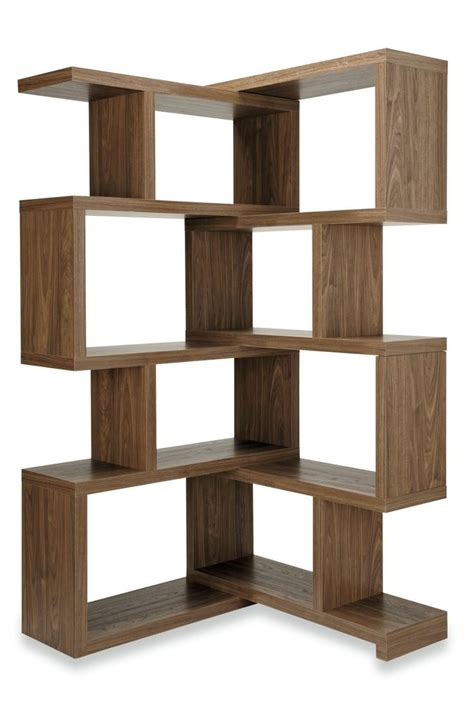 where to buy a bookcase buy mode 174 walnut extending corner shelf from the next uk