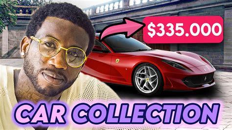 Une ferrari conduite par dinaz à l'imprimé gucci vert foncé et blanc. Gucci Mane | Car Collection 2020 | Ferrari 812 Superfast, Rolls Royce Cullinan & More - YouTube