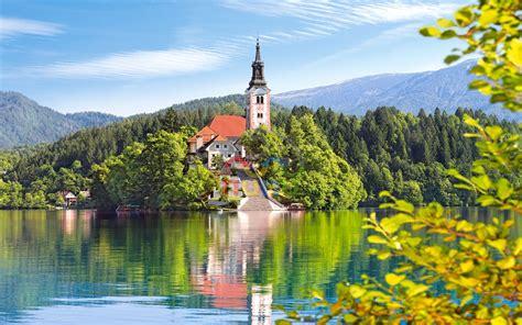 Nature Lake Bled. Desktop Background Image : Wallpapers13.com