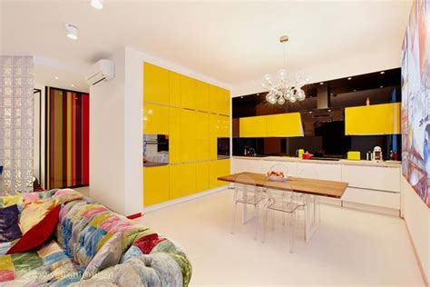 Decorating Ideas Yellow Kitchen by Yellow Kitchen Colors 22 Bright Modern Kitchen Design And