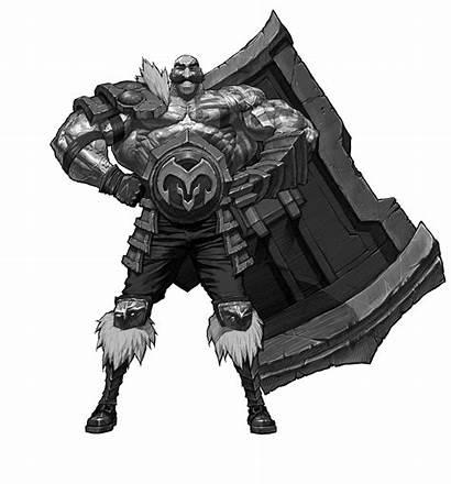Braum Lol Concept Champion Legends League Wikia