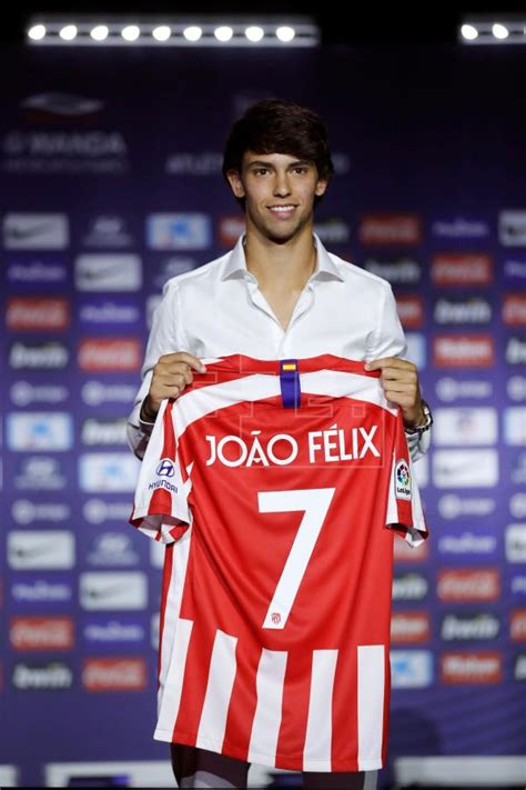He received the no.7 shirt which was previously worn by. Joao Félix: I came to Atletico to make history   Sports   English edition   Agencia EFE