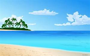 Scenery clipart ocean theme - Pencil and in color scenery ...