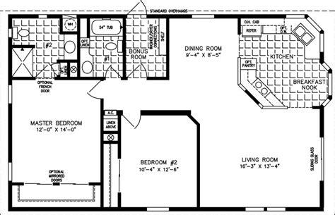 1000 sq ft floor plans house plans sq ft bungalow 1000 sq ft open floor plans