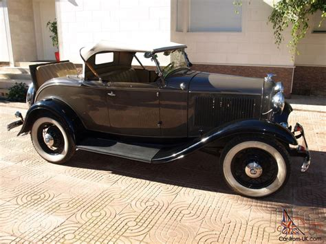 Ford B-v8 1932 Type 18 Roadster