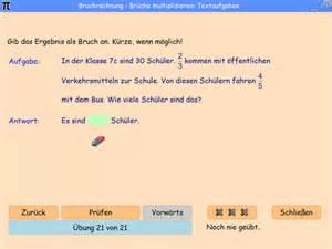 brüche kürzen mit variablen bruchrechnung textaufgaben compulearn mathematik
