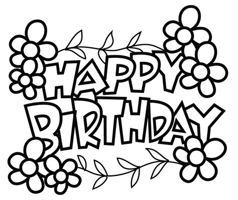 birthday card printables image collections free birthday cards card invitation design ideas birthday coloring pages free