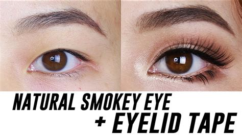 smokey eye makeup  small hooded monolid eyes tina yong youtube