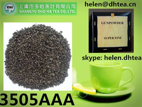 China Green Tea powder Super Fine Gunpowder tea 3505 for ...