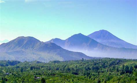 daftar nama pegunungan  gunung berapi  pulau bali