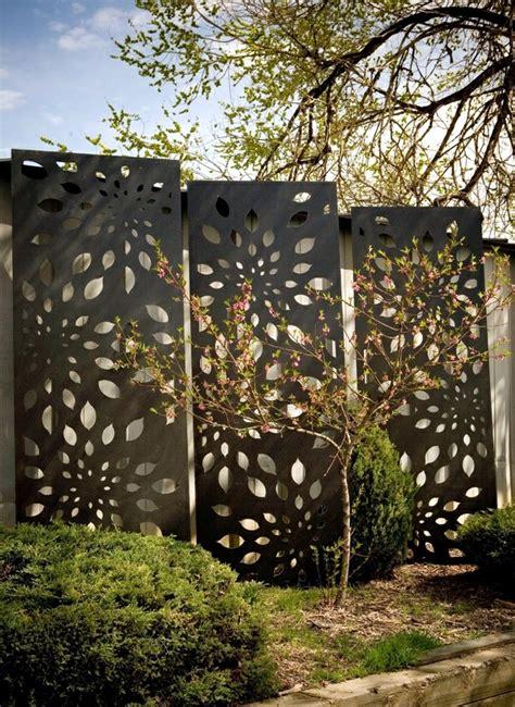 outdoor patio privacy screen ideas screening fence or garden wall 102 ideas for garden