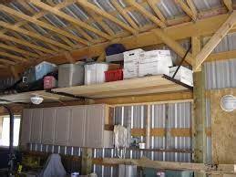 image result  adding shelving  pole barn garage