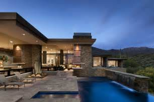 stunning interiors for the home desert home in arizona has spacious interiors and stunning outdoors