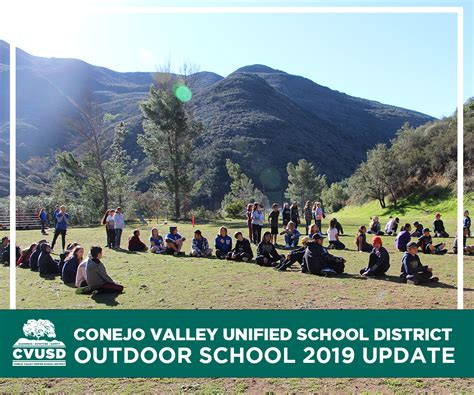 outdoor school held camp ramah conejo valley unified
