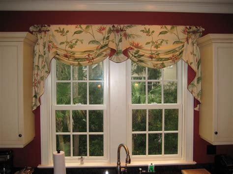 valance window treatment ideas valance idea for the kitchen sink window treatments