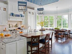 10 high end kitchen countertop choices hgtv With kitchen colors with white cabinets with crescent moon wall art