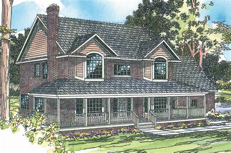 House Plans by Country House Plans Cimarron 10 208 Associated Designs