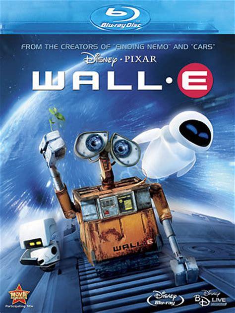 walle dvdblu ray november  cover upcoming pixar