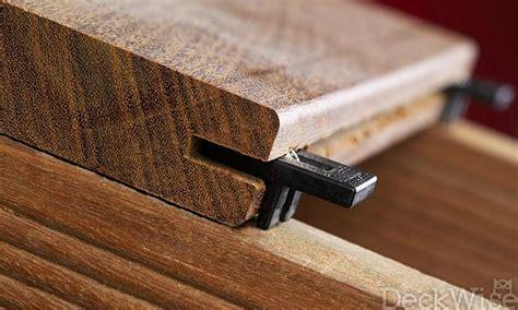 Deck Fasteners For Wood by Ipe Clip Deck Fastener Edge Mount Deckwise