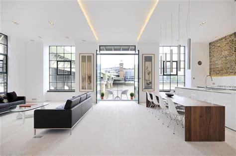 canape loft taupe departamento con diseño de interiores contemporáneo